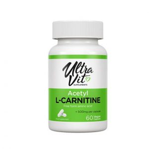 ULTRAVIT Acetyl L-Carnitine - 60 Kapsul